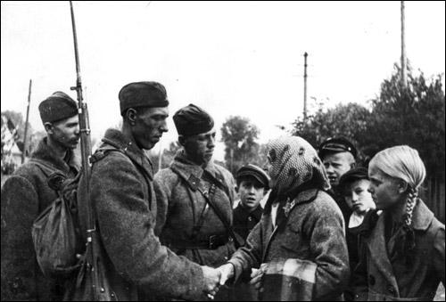 Солдати червоної армії восени 1941 року