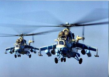 Янукович отправил украинские ударные вертолеты в Кот-Д'Ивуар.