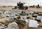 Хроники Ливии: фото бомбардировки ливийской авиацией позиций мятежников!!!