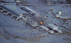 Грандиозное землетрясение и цунами в Японии.