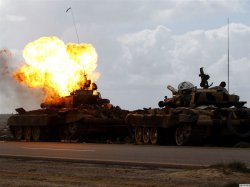 """""""Кровавая Одиссея"""" над Ливией день второй: под бомбами ливийская войска наступают на мятежников!!!"""