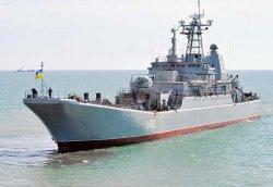 Большой десантный корабль «Костянтин Ольшанський» взял курс с Мальты на Севастополь.