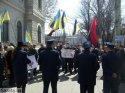 """Лидер """"Фронта змин"""" Арсений Яценюк считает провокацией одобренный парламентом законопроект об обязательном использовании красного знамени."""