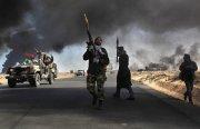 В Ливии продолжается кровопролитное сражение за Сирт.