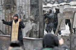 """В Киеве в ходе разгона протестов убиты несколько человек, с """"Днем кровавой соборности Украины""""!!!"""
