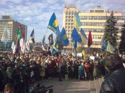 Заявление запорожской активистки Ирины Лех по поводу действий Запорожской самообороны!