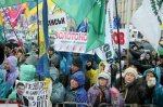 В Киеве продолжились протесты против принятия Налогового кодеса: дошло до первого мордобоя.